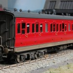 SR rebuilt LSWR Lav Composite to diagram D285 in BR(SR) crimson No. S4635