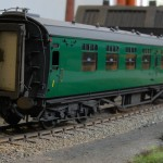 BR (ex Southern) Bulleid Corridor Composite No. S5807S to diagram D2318