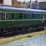 BR Swindon Inter City DMBSO(L) to diagram 566 class 123/2. No. W52090.....Scratch built