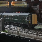 BR Swindon Inter City DMBSO(L) to diagram 566 class 123/2 No. W52090. Scratch built