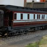 LNWR first class sleeping car to diagram D5 number 145 built 1897