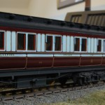 LNWR first class sleeping car to diagram D5 number 145 built 1897