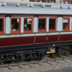 LNWR composite dining car to diagram D9 number 537 built 1905