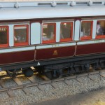 LNWR composite dining car to diagram D9 number 537 built 1905