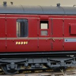 LMS Corridor Brake third number 26291 to Diagram D1968