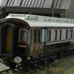 LNWR King Edward VII Saloon built 1903 at Wolverton