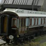 LNWR King Edward VII Saloon built 1903 at Wolverton